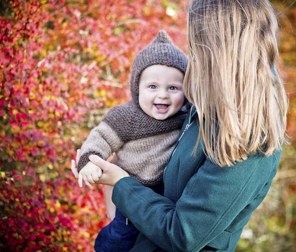 mor med barn Sønderborg
