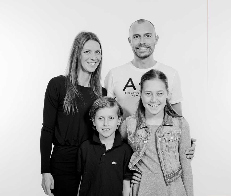 familie gruppefoto Sønderborg
