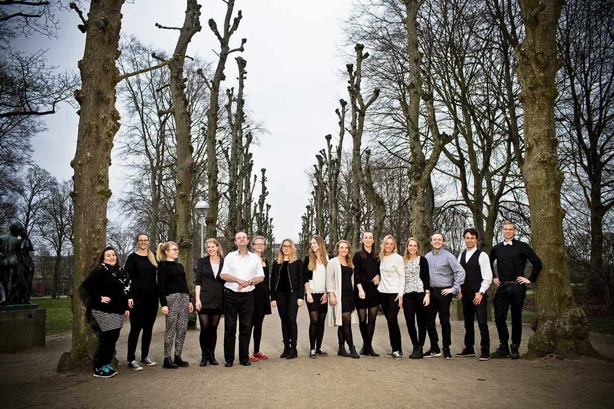stort gruppe foto Sønderborg