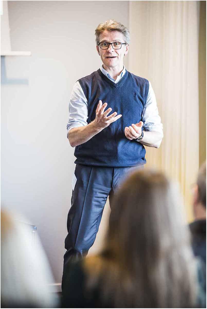 speaker ved event Sønderborg