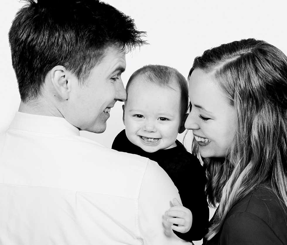 familie billede Sønderborg