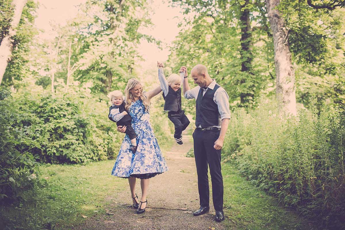 Sønderborg familie fotografering