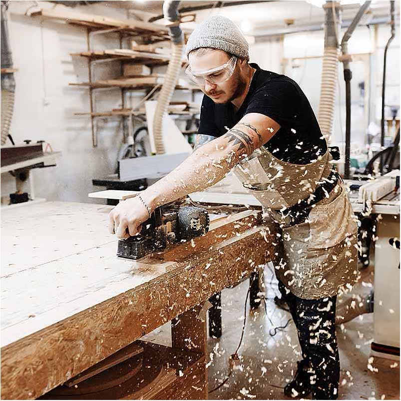 firma foto ved snedker Sønderborg