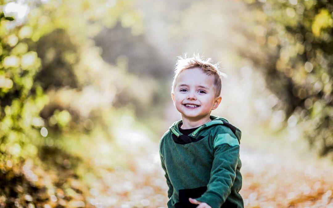 Børnefotografering med stil